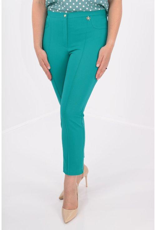 Pantaloni conici vernil