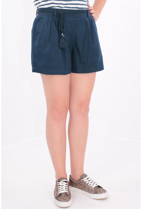 Pantaloni scurti bleumarin