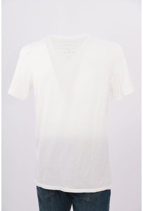 Tricou Jack&Jones alb cu imprimeu text