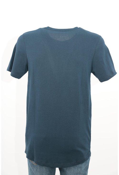 Tricou jack&Jones bleumarin cu imprimeu text