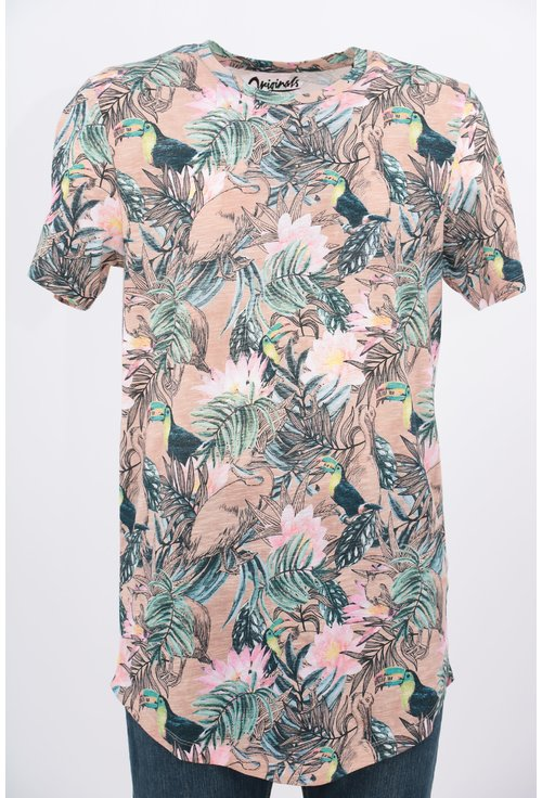 Tricou Jack&Jones cu print floral