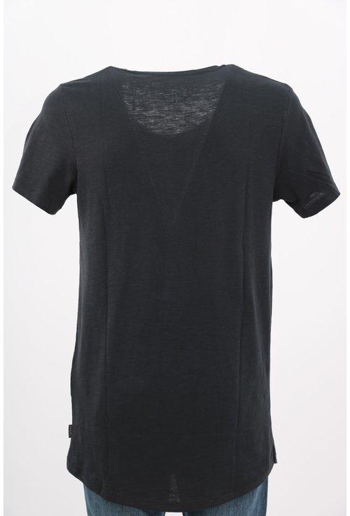 Tricou Jack&Jones negru cu print foto
