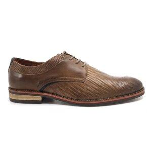 Pantofi casual barbati din piele naturala, Leofex - 592-2 Taupe box