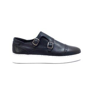 Pantofi casual barbati din piele naturala, Leofex - 600 blue box