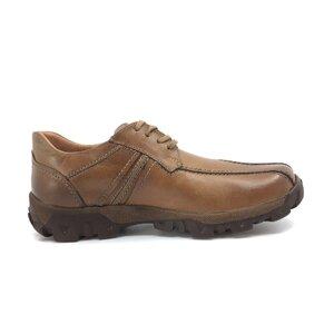 Pantofi casual barbati din piele naturala, Leofex - Mostra Paul cognac box