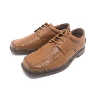 Pantofi casual barbati din piele naturala, Leofex - Mostra Cognac Siret