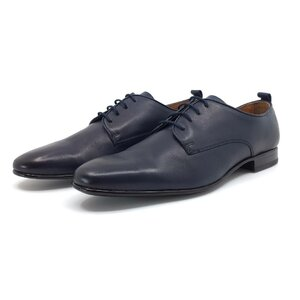 Pantofi eleganti barbati din piele naturala,Leofex - 112-2 Blue box