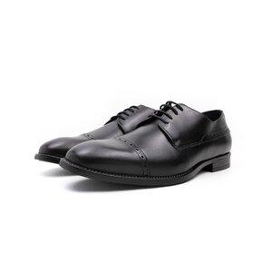 Pantofi eleganti barbati din piele naturala,Leofex - 510 negru box