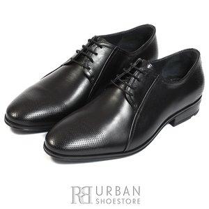 Pantofi eleganti barbati din piele naturala,Leofex - 743 * negru box