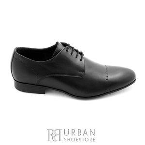 Pantofi eleganti barbati din piele naturala,Leofex - 892 negru box