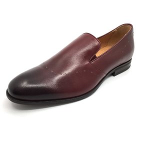 Pantofi eleganti barbati din piele naturala, Leofex - 900 visiniu box