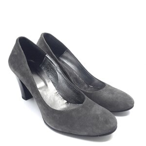 Pantofi eleganti dama din piele naturala – 006 Gri velur