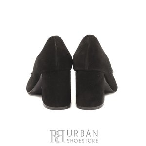 Pantofi eleganti dama din piele naturala - 0490-4 Negru Velur