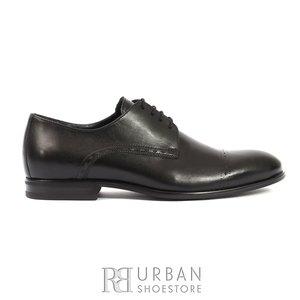 Pantofi eleganti barbati din piele naturala, Leofex - 931 Negru Box