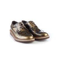 Pantofi Oxford din piele naturala Antique
