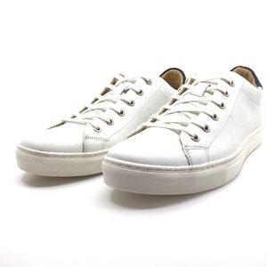 Pantofi sport barbati din piele naturala, Leofex - 149 Alb box