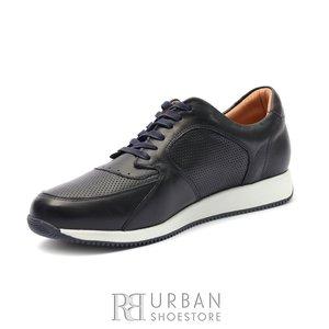 Pantofi sport barbati din piele naturala Leofex - 519 Blue Box