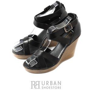 Sandale casual din piele naturala - 2781 negru