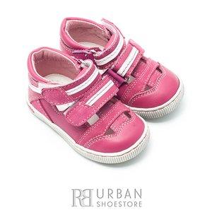Sandale copii din piele naturala  – 120 roz