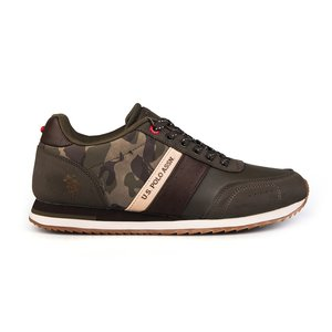 Sneakers barbati U.S. POLO ASSN.-500 Army