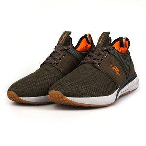 Sneakers barbati U.S. POLO ASSN.-501 Kaki
