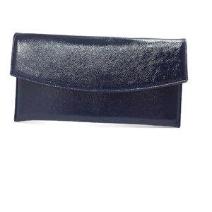 Geanta plic eleganta din piele naturala - Blue Lac