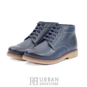 Ghete casual din piele naturala - 191 Blue Box