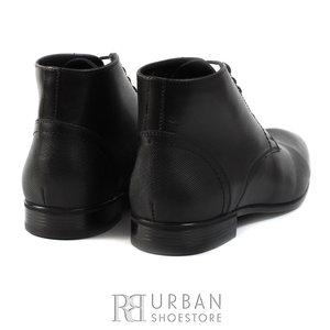 Ghete elegante din piele naturala pentru barbati - 815 negru