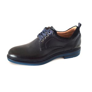 Pantofi barbati casual din piele naturala Leofex- 969-1 blue box