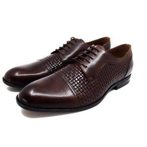 Pantofi barbati eleganti din piele naturala - 525  Maro