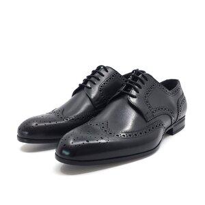 Pantofi barbati eleganti din piele naturala Leofex- 1023 negru box