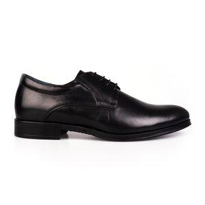 Pantofi barbati eleganti din piele naturala Leofex - 930-1 Negru Box