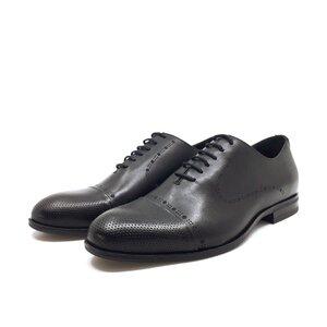 Pantofi barbati eleganti din piele naturala Leofex- 934 - 2 Negru Box