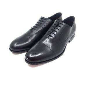 Pantofi barbati eleganti din piele naturala Leofex- 934 Negru Box