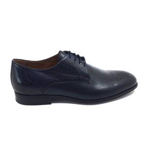 Pantofi barbati eleganti din piele naturala Leofex - Mostra Adam Blue Box