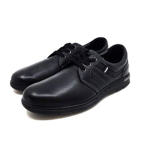 Pantofi casual barbati din piele naturala, Leofex - 521 negru box