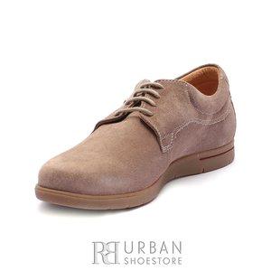 Pantofi casual barbati din piele naturala, Leofex - 837 Taupe Velur