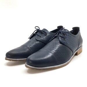 Pantofi casual dama din piele naturala,Leofex-325 Blue Box