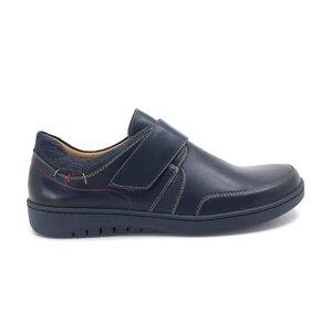 Pantofi casual dama din piele naturala, Leofex - Mostra Ionela blue box