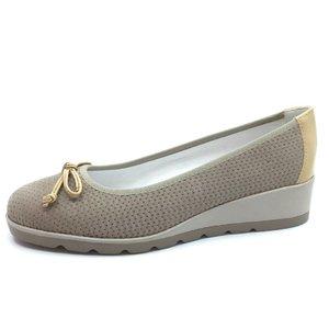 Pantofi casual de piele naturala - B5664 Bej
