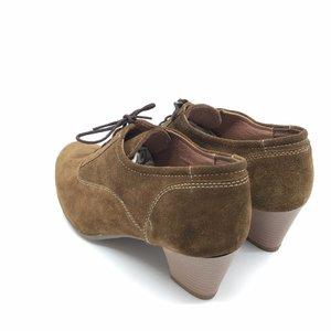 Pantofi casual din piele intoarsa - Mostra Maro Velur