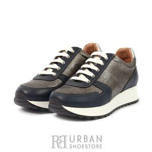 Pantofi casual din piele naturala-101 Blue AG BOX