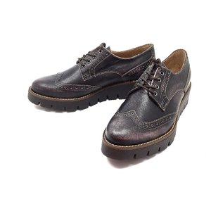 Pantofi casual din piele naturala - 180 Mov