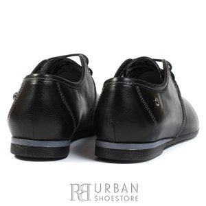 Pantofi casual din piele naturala - 316 negru
