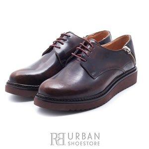 Pantofi casual din piele naturala - 479 Florantic maro