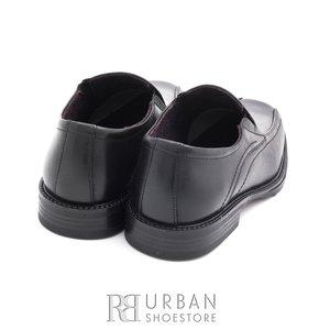 Pantofi casual din piele naturala - 609 negru box