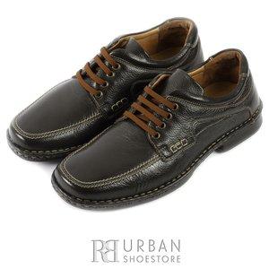 Pantofi casual din piele naturala - 629 maro