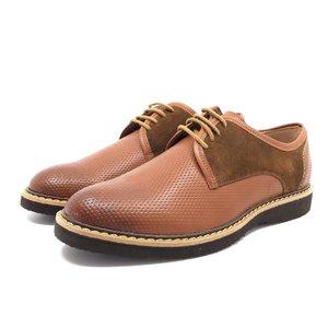 Pantofi casual din piele naturala- 938 Cognac