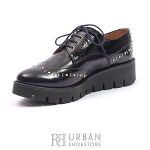 Pantofi casual din piele naturala Leofex - 096 blue  florantic