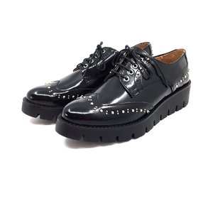 Pantofi casual din piele naturala Leofex - 096 Negru Florantic